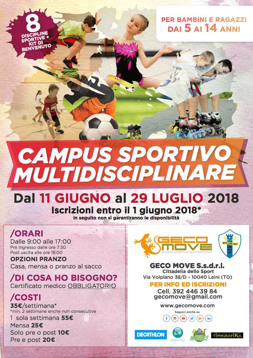 geco summer camp 2018