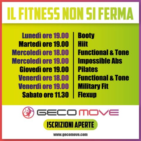 fitness geco move leini